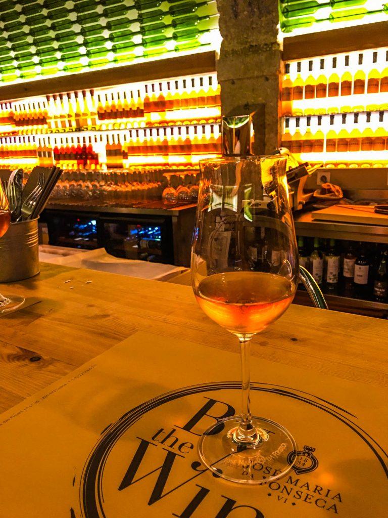 wine bar lizbona