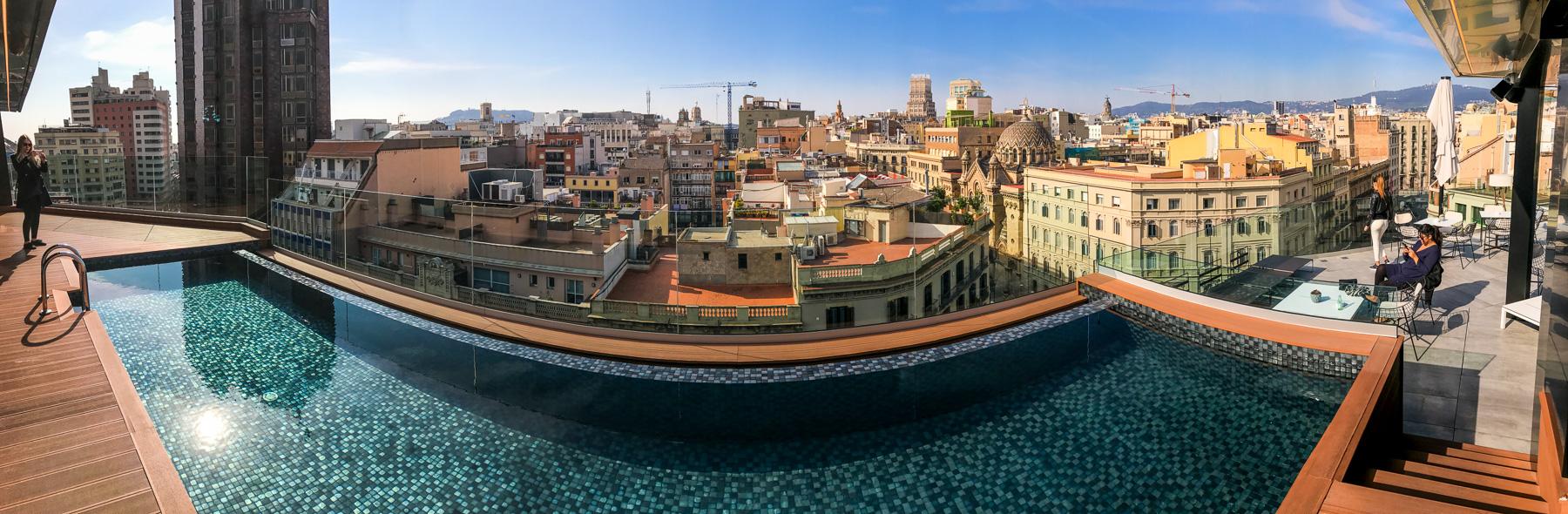 barcelona, panorama barcelony