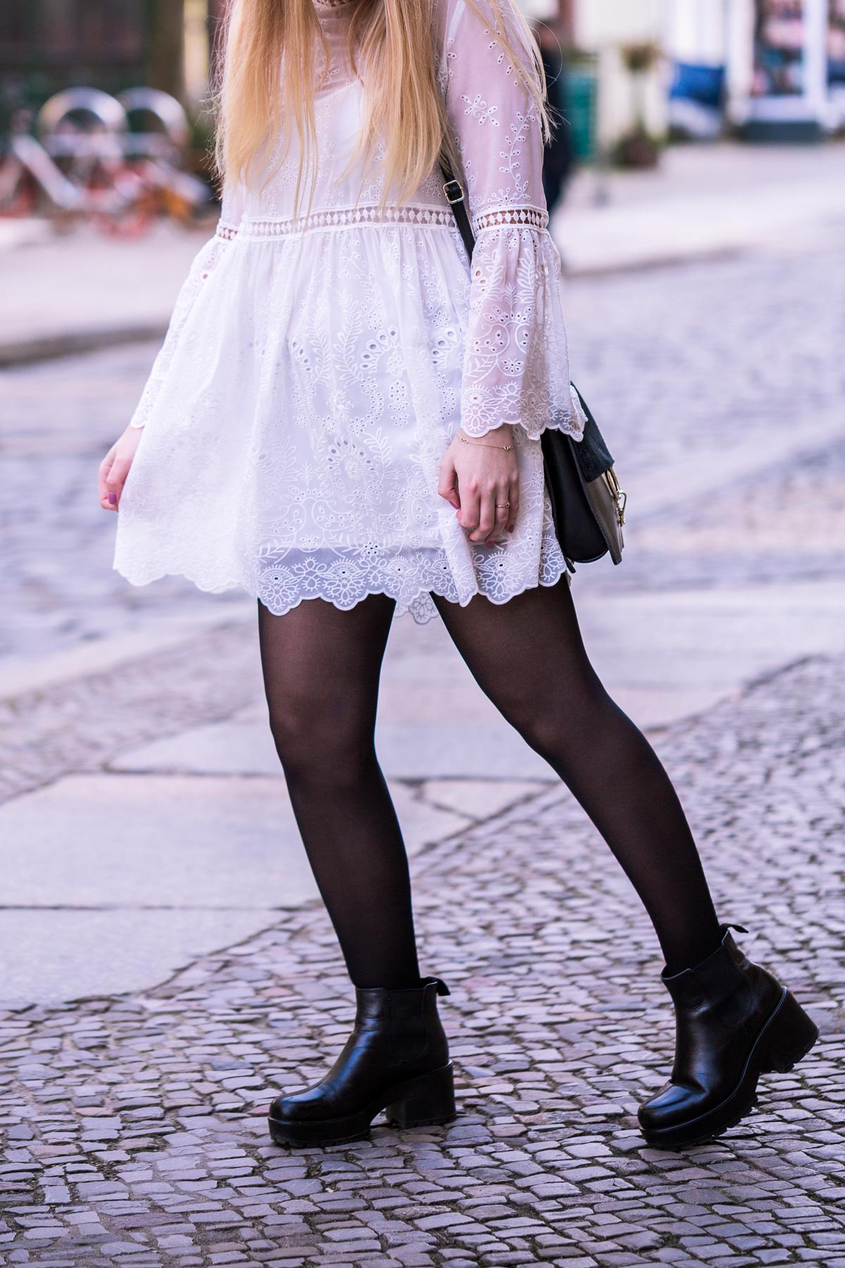 koronkowa sukienka z zary