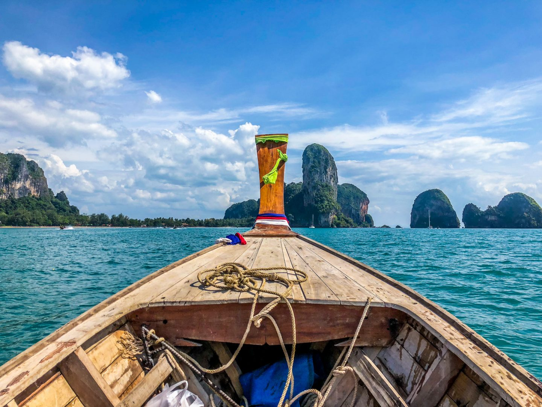 Tajlandia, krabi plaże, railay