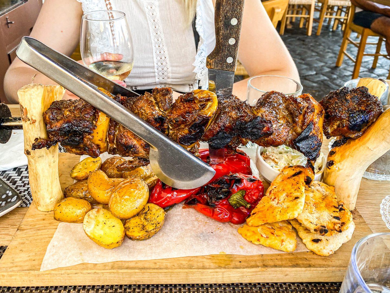 ta chalkina chania restaurant crete food greece