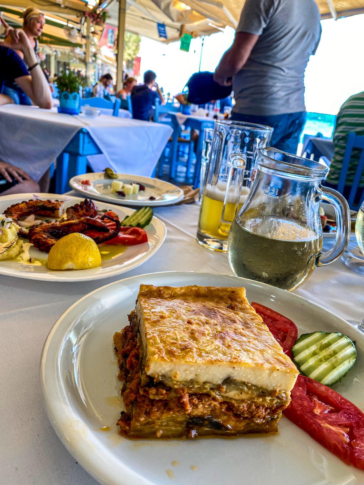 amphora restaurant crete food greece chania
