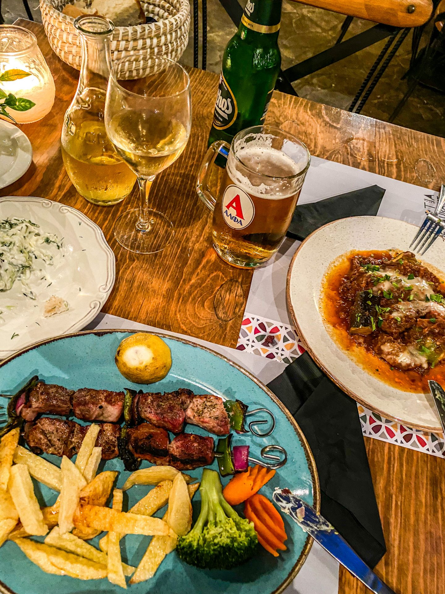 ellotia restaurant crete food greece chania
