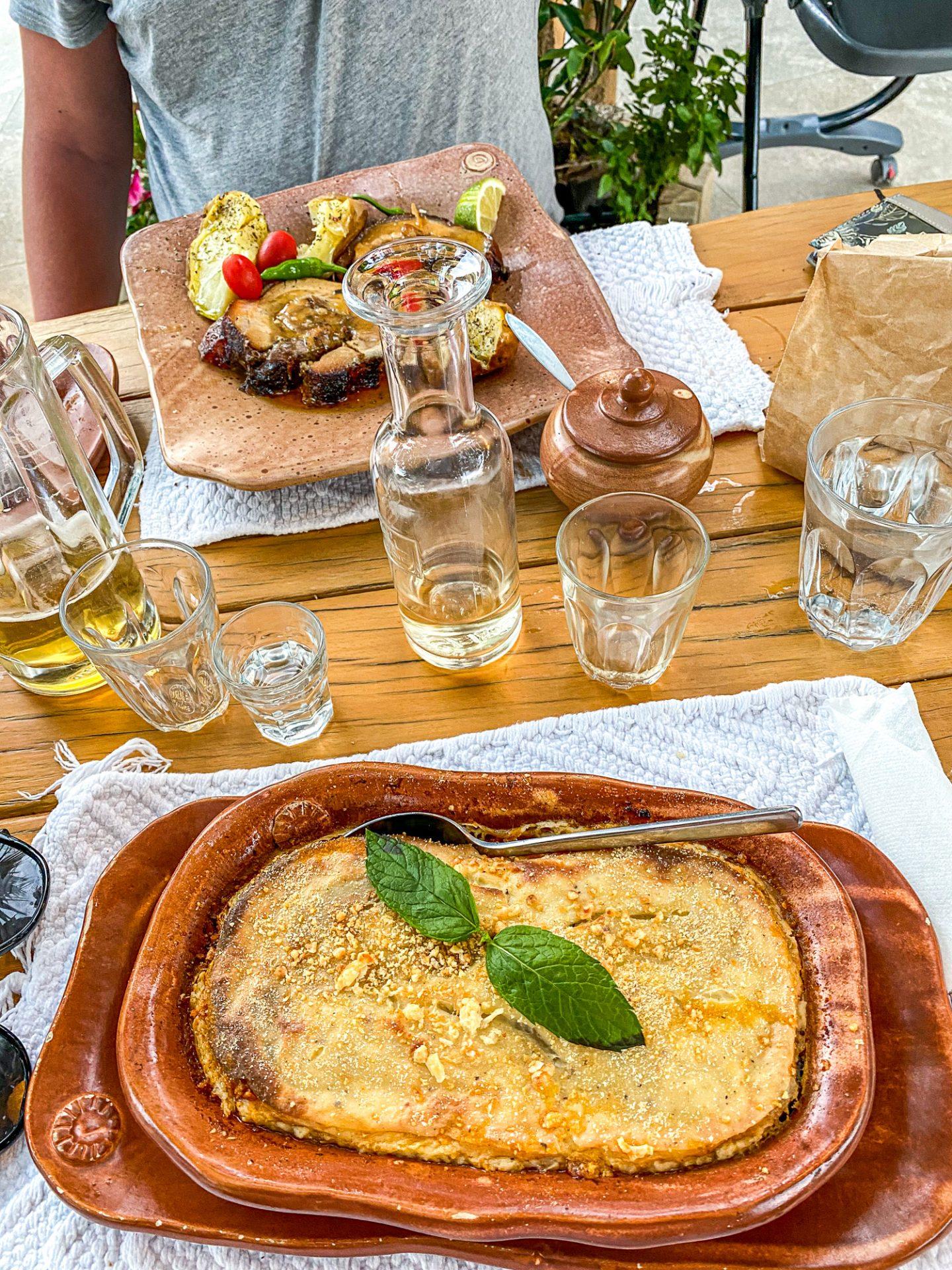 gramboussa restaurant crete food greece