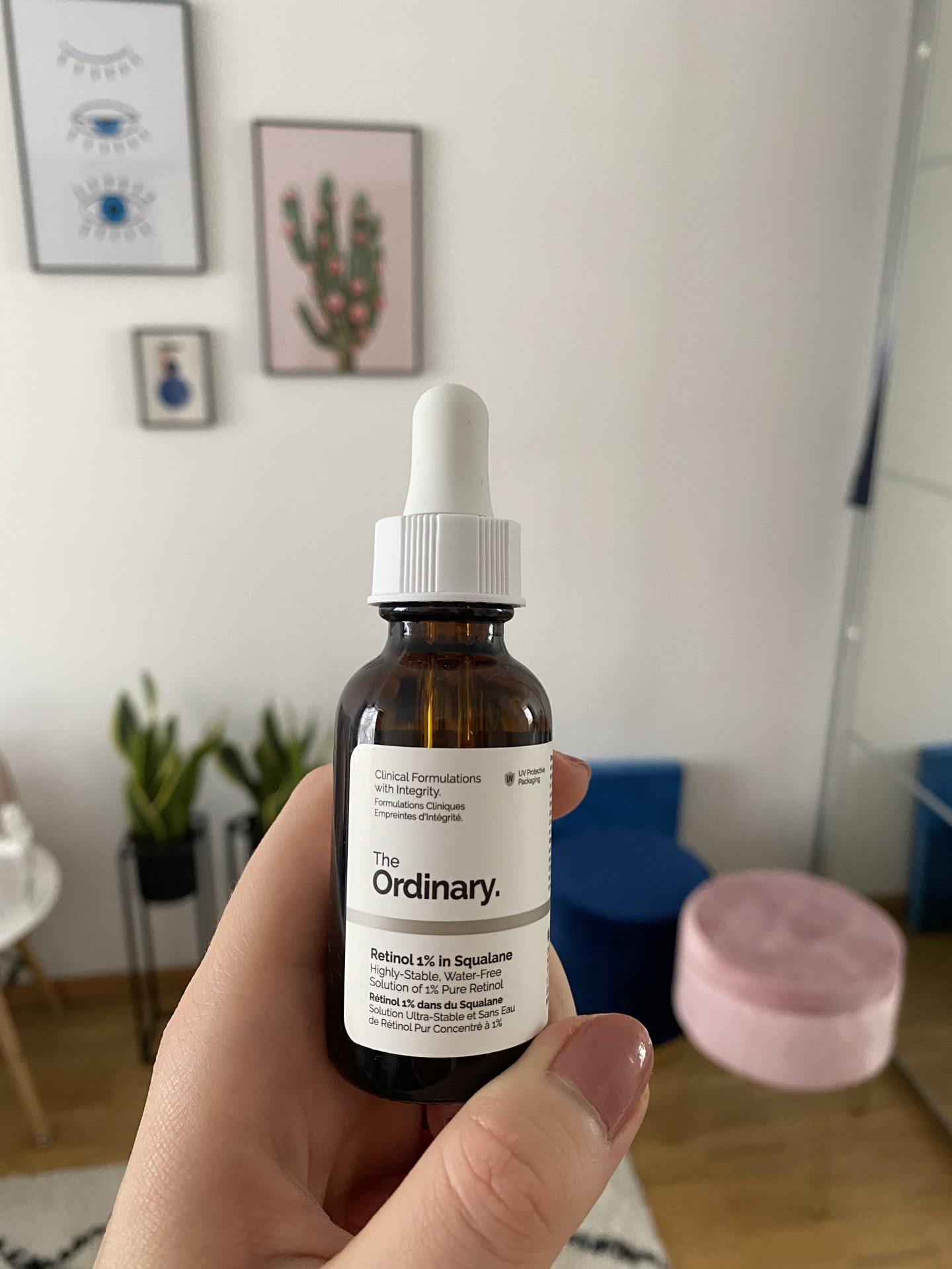 retinol kosmetyki the ordinary pielęgnacja