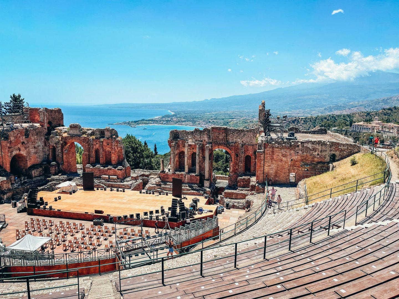 amfiteatr taormina sycylia