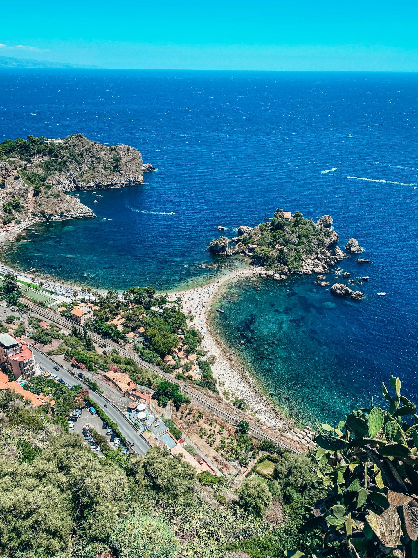 isola bella taormina sycylia