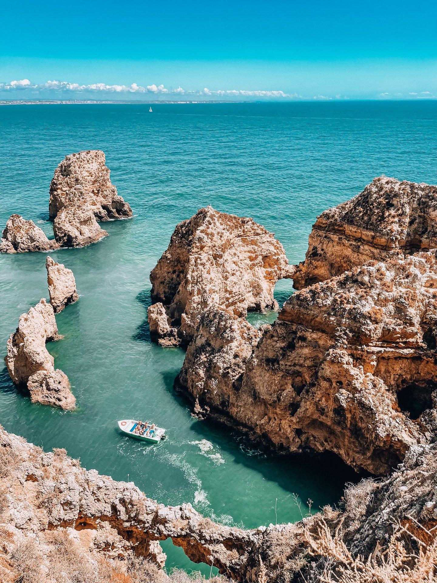Ponta da Piedade lagos algarve portugalia portugal