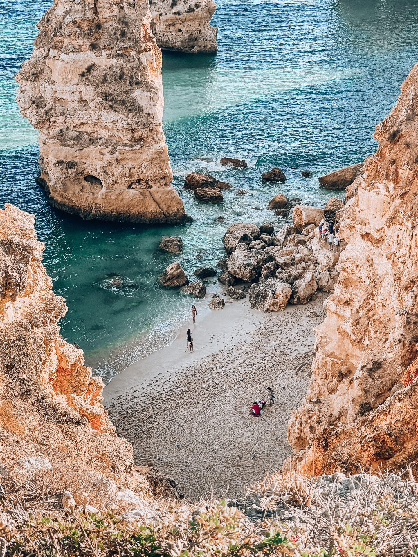 Praia da Marinha algarve portugalia portugal