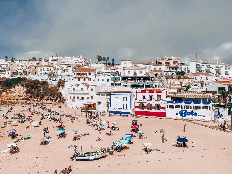 algarve carvoeiro portugalia portugal